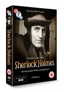 Douglas WIlmer SHerlock Holmes DVD box set