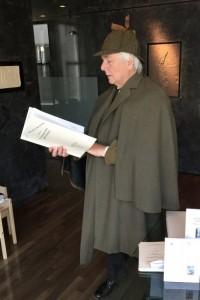 Holmes (David Jones) examines the Abbey Grange  facsimile (Bob Ellis)