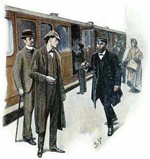 """""""I suppose that you are the detectives from London,"""" said he."""