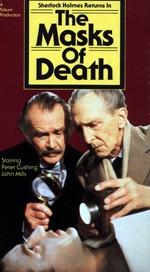 Peter Cushing as Holmes and Sir John Mills as Watson