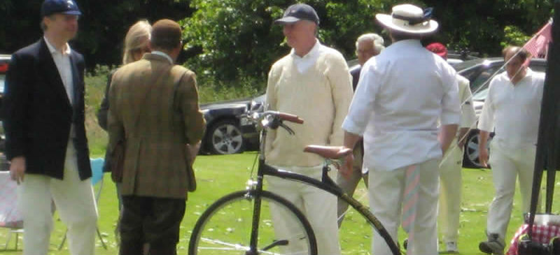Sherlock Holmes Cricket