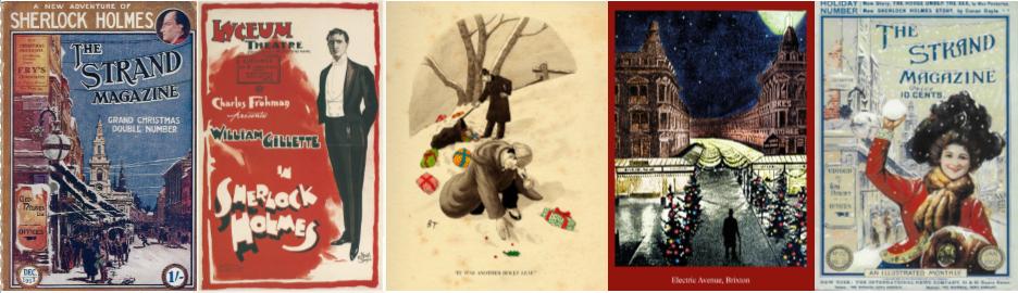 Sherlock Holmes Christmas Cards